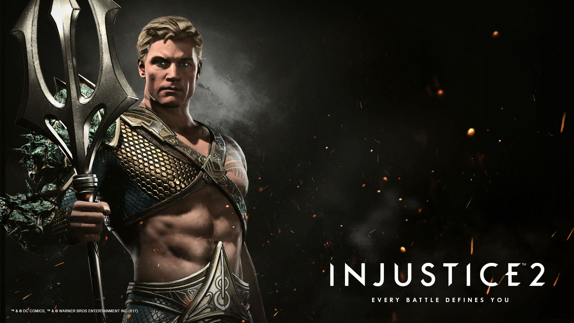 Image result for Aquaman injustice2 wallpaper