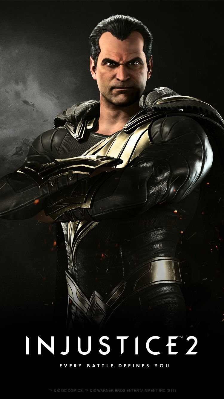 Injustice 2 Karakteri Black Adam