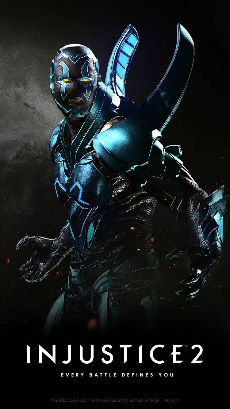 Injustice 2 Karakteri Blue Beetle
