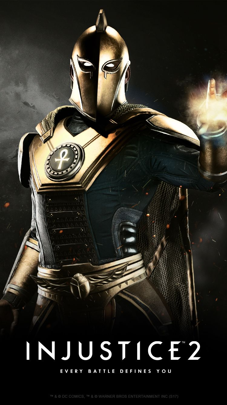Injustice 2 Karakteri Dr. Fate