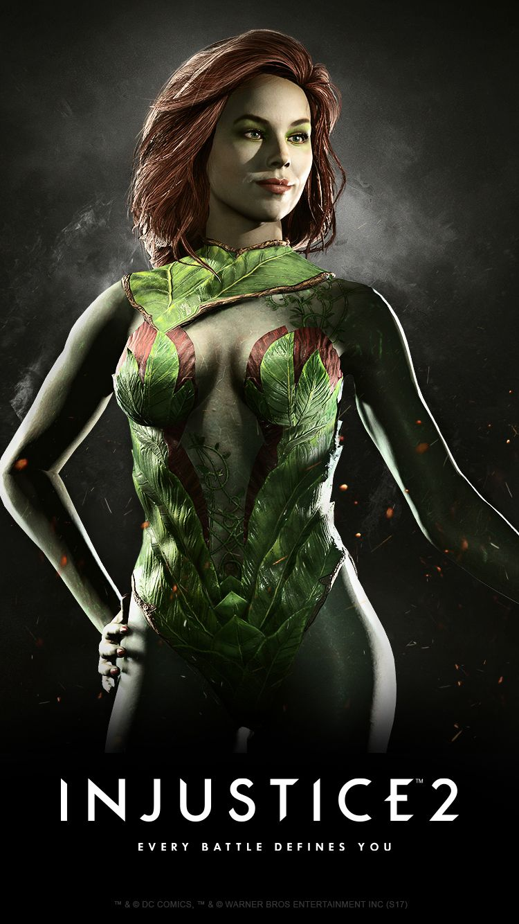 Injustice 2 Karakteri Poison Ivy