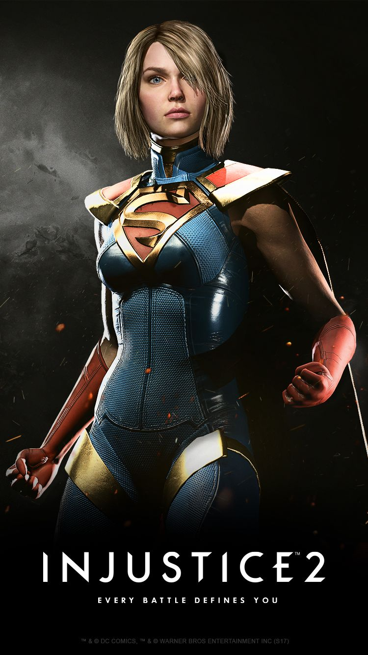 Injustice 2 Karakteri Supergirl