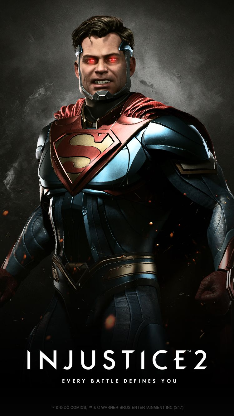 Injustice 2 Karakteri Superman