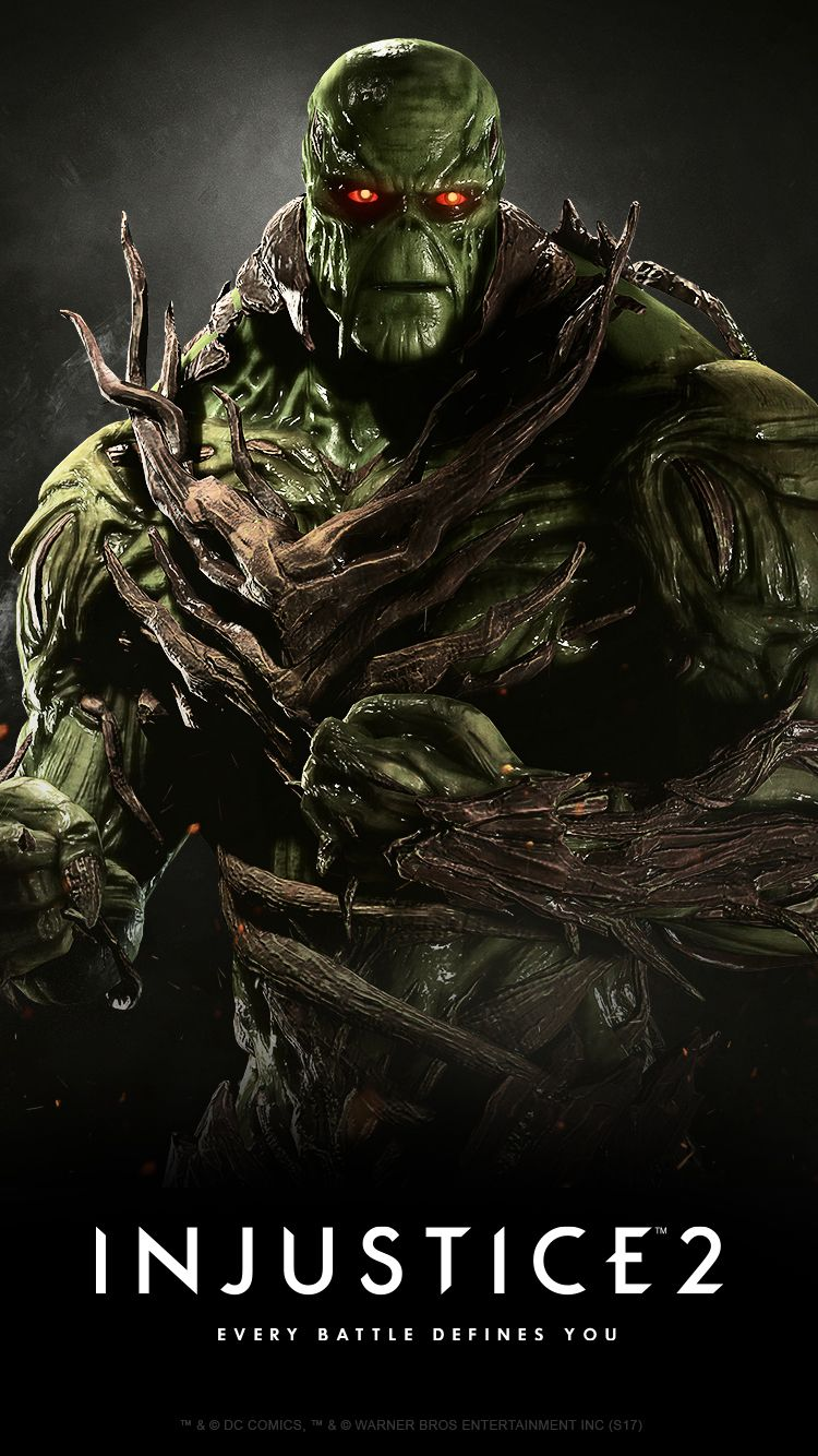 Injustice 2 Karakteri Swamp Thing